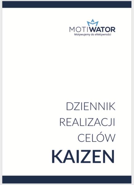 Dziennik celów Kaizen Aneta Wątor